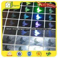 Dove sticker,anti-tamper hologram sticker, visa hologram sticker thumbnail image