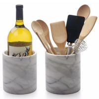 Natural Marble wine cooler Creative Home Natural Marble Wine Cooler Tool Crock Utensil Holder thumbnail image