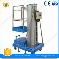 7LSJLI Shandong SevenLift manual mobile single mast climbing work platform