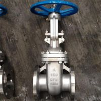 China Factory API 6 Inch Stainless Steel Flange Gate Valve thumbnail image