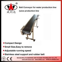 Adjustable Speed automatic Belt conveyor