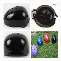 Attractive skateboard helmet, Ice ski pure color helmet for lady