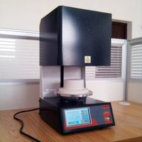 1200C lift porcelain furnace ( O.D 100*90mm) with PID touch screen programmable control