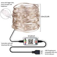 LED Rope Lights with APP control Led String Lights with16 million colors 19 modes color changing thumbnail image