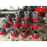 Elastic drum gear coupling