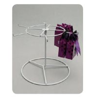 6 hooks metal counter top accessories display