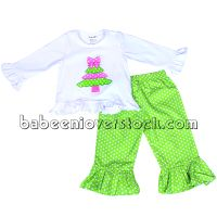 X-mas tree applique set