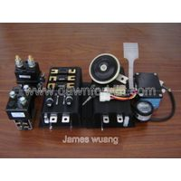 CURTIS 1205+1253 48V HYDRAULIC PUMP CONTROLLER ACCESSORY PACKS 15 IN1 CONTACTOR METER THROTTLE FUSE  thumbnail image
