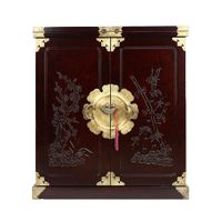 Korean Antique Style Wine Display Unit Furniture