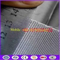 Reverse Dutch Twill Weave Ribbon Style Mesh Filter Belt For Continuous Screen Changers