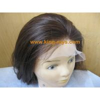 best quality silky straight huma hair lace wig