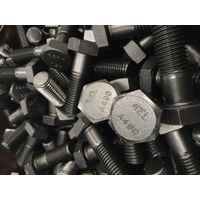 A490 HEAVY HEX BOLTS BLACK FINISH