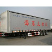 curtain side semi-trailer