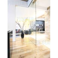 Indoor toughened glass partition