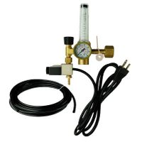 High Flow Victor Hydroponic And Garden Greenhouse Solenoid CO2 Regulator With Heater