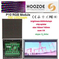 p10 full color outdoor led display board