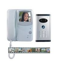Desktop/ Wall-mounting Color Video Door Phone with Access Control