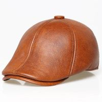 Real Leather Ivy Cap