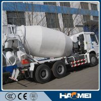 Alibaba Recommended 6m3 Mercedes Benz Standard Concrete Mixer Truck