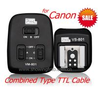 Pixel PF-801 E-TTL Combined Off-camera Cable For Canon