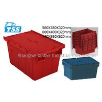 Model no. TSS-TBX5638, Healthcare Storage Container Box Plastic Tote Box 47L 565X385X320mm