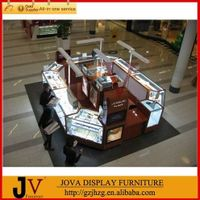 High quality jewelry kiosk design for mall with LED lights thumbnail image