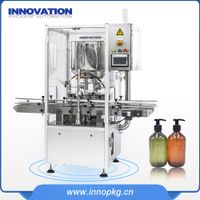 Automatic Dual Lanes industrial body lotion filling machine