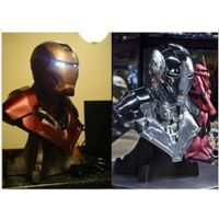 Hot Avengers 1:1 Iron Man MK3 Life-Size Bust Statue Figure Model Toy Collectible