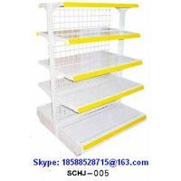 Goods Shelf 5-Layer Display Rack Iron Wire Mesh Back direct Sale SuperMarket/Shop/Store SCHJ-005