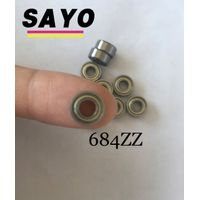 684ZZ High precision low vibration deep groove ball bearing with China factory price