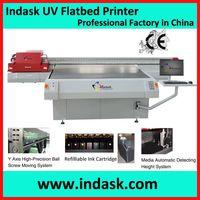 Indask wide-format inkjet flatbed uv printing machine F2518