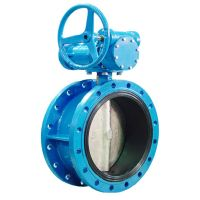 double flanged concentric butterfly valve thumbnail image