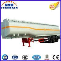 3 Axle 36cbm Petrol/Diesel/Cargo/Utility Carbon Steel Tanker Truck Semi Trailer