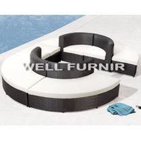 Well Furnir Company Limited Rattan Wicker Sectional Sofa Set WF-20990