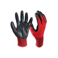 Nitrile Coated Cut Resistant Safety Work Gloves