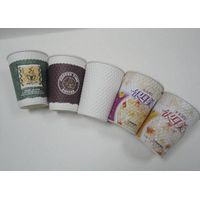 milk tea paper cup single/double wall paper cup
