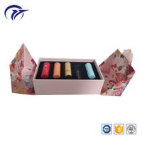 customized printing double side opening special shape lipstic packaging paper gift display box with thumbnail image