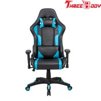Gaming Chair, Swivel Leather Office Chair, High Back Ergonomic Racing Chair Adjustable Computer Chai