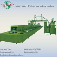 Direct Injection Foaming Casting PU Sole Machine