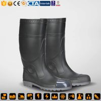 CE S5 PVC Steel Toe Safety Boots