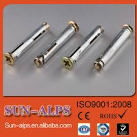 China supplier,cheap price high quantity zinc plated screws and Mmetal window frame anchor
