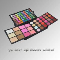 96 color Combo makeup palette with Eyeshadow Concealer Blush and Lipgloss thumbnail image