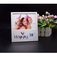 lucky aluminum picture photo frame for friends and family