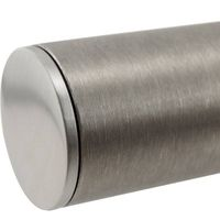 Stainless steel end cap (handrail fitting)