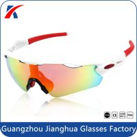 2015 newest brand wrap around REVO prescription outdoor biking sunglasses