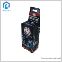 POS Trade Show Pop Display Portable Case Exhibition Carton Supermarket Cardboard Trolley Case