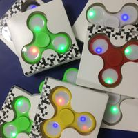 led fidget spinner 608 Ceramic Bearing led hand spinner toy spinner fidget