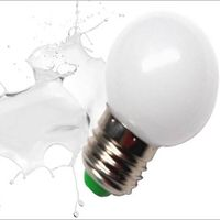 G45 E27 0.5W to 1W color led bulb(milk, yellow,red,green,blue,purple) for Christmas party