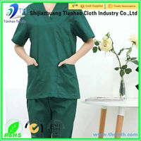 polyester cotton blend fabric for medical uniform fabric