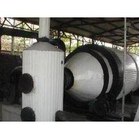 The newest rotating Waste plastics  Refining equipment